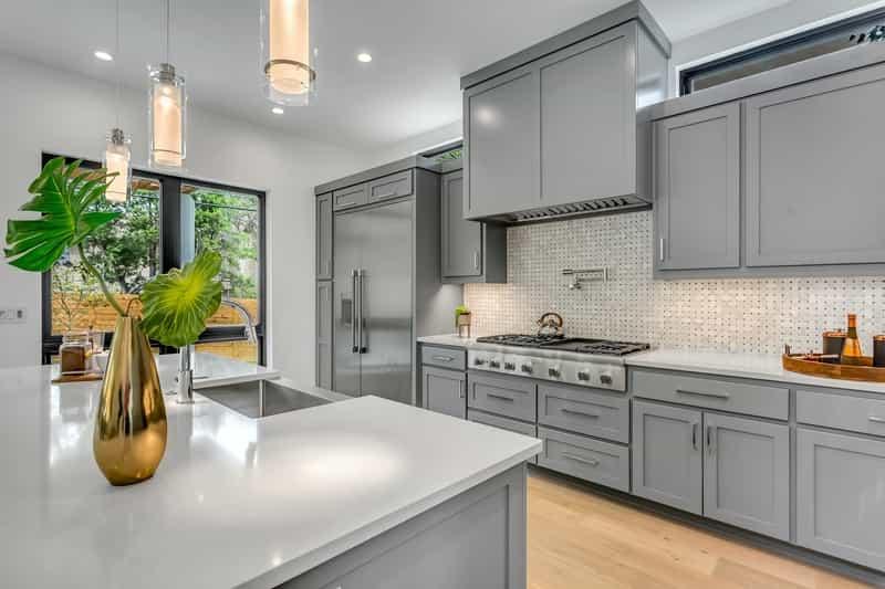 Gray Kitchen Cabinets Trending Upwards, Gray Kitchen Cabinets