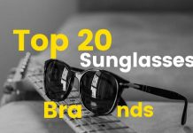 Top 20 Sunglasses Brands