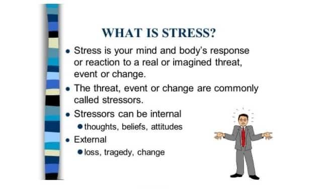 Meditation alleviates stress