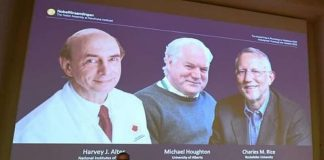 Nobel Prize For Medicine To Scientists Discovering Hepatitis C