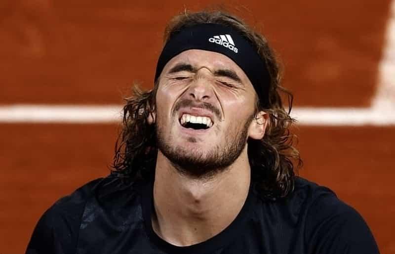 Stefanos Tsitsipas French Open final