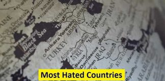 most hated countries