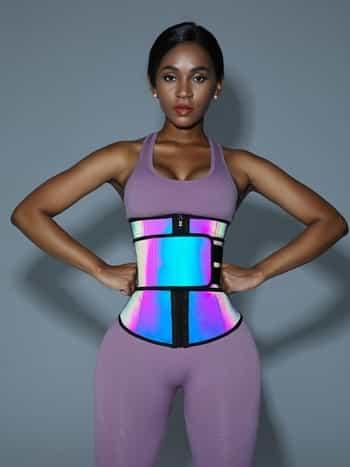 reflective waist trainer