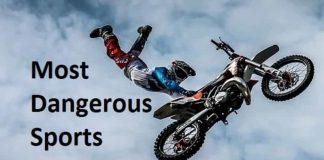 most dangerous sports
