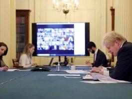 Boris Johnson blames Chinese for coronavirus