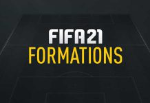 FIFA 21 Formations