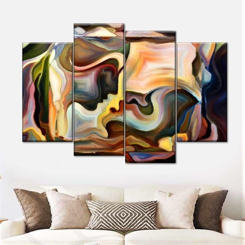 abstract wall arts
