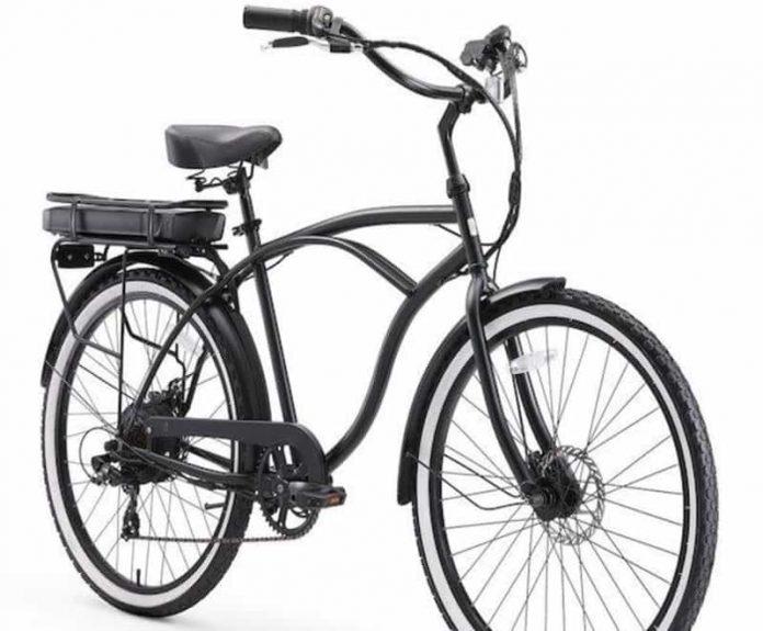 classy e-bike