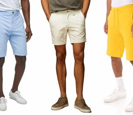 buying men's shorts